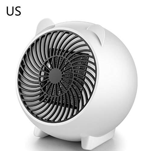 Petit chauffage électrique pour la maison, EU/JP/US - Motif dessin animé mignon Wus