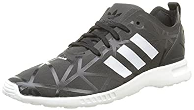 adidas Damen Zx Flux Smooth Sneakers, Noir Black/Core White, 38 2/3 EU