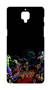 Pinklips Shopping OnePlus Three / OnePlus 3 Hard Case Printed Back Cover - PLNOP3PHSUP03158