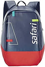 SAFARI 18 Ltrs Brilliant Blue Laptop/Casual/School/College Backpack with USB Charging (POWERPACK19CBBLB)