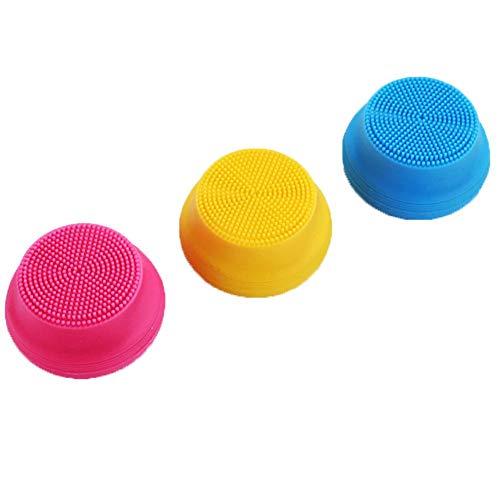 Liery 7 Ebene wasserdichte Elektrische Silikon Reinigungsinstrument Ultraschallreinigungsinstrument Waschinstrument Tragbare Lade Reinigungsbürste Porenreinigungsbürste (Versand Farbe Zufällig) (Habe Lanyard)