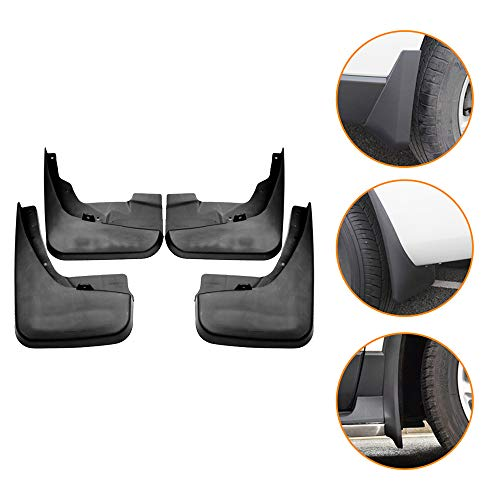 SHUNAN-EU Auto Kotflügel Front Rear Mudguards für Grand Caravan 2011-2015 Splash Fender 4PCS Mud Flap Set (Dodge Caravan Kotflügel)