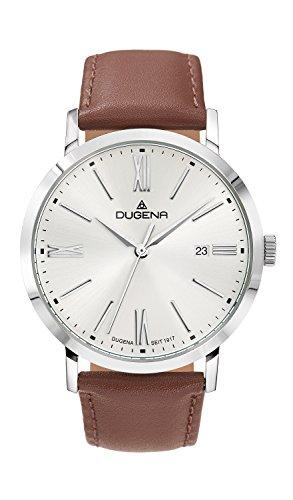 Dugena reloj de pulsera para hombre Sirius–Trend Line analógico de cuarzo piel 4460644