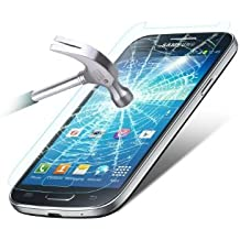 HQ CLOUD 1 Film Vitre en Verre Trempe de Protection d'ecran Transparent pour Samsung Galaxy S4 mini i9190/ S4 mini plus I9195I