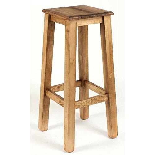 taburete-rustico-alto-de-madera-de-pino-encerado-modelo-905-sin-respaldo