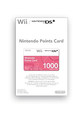 Nintendo Points Card 1000