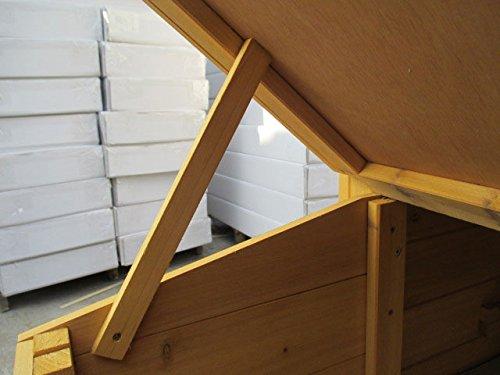 Dobar – Hühnerhaus 24001FSC mit Freigehege auf 2 Etagen - 9
