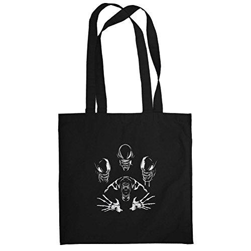 Texlab–The Extraterrestrial Queen–sacchetto di stoffa Nero