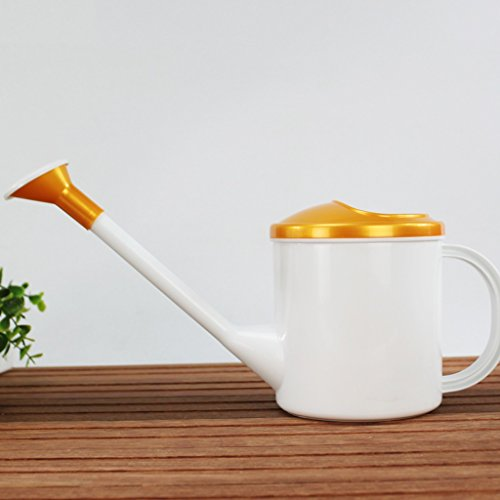 Wddwarmhome Petit pot d'arrosage de jardinage de la résine 1.5L petit arrosoir ( Couleur : Or )