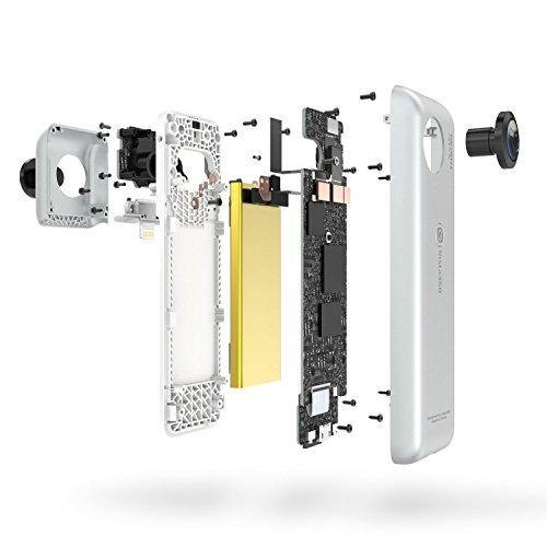 Insta360 Nano hardwrk Edition mit Halterung für Stativ oder Selfie Stick – 360 Grad Kamera für iPhone - 5
