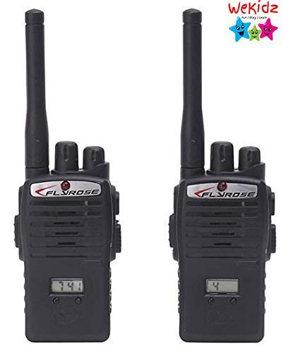 Wekidz 2 Player Toy Walkie Talkie Interphone - Black