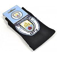 Manchester City Unisex Official Socks, Multi-Colour, Size 6-11