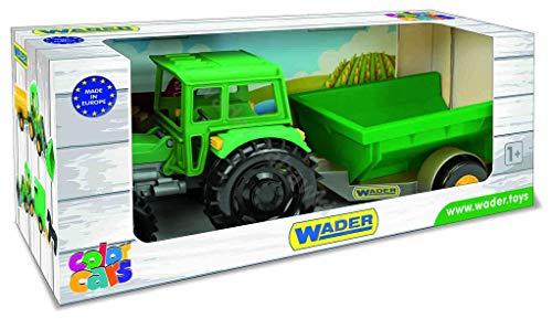 Tigres 35020 Tractor Farmer con un Remolque en una Caja,, Talla única