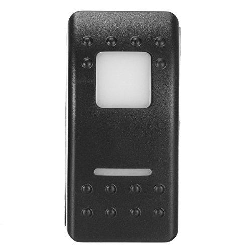 KUNSE Universal 12V 7 Pines LED luz Interruptor DPDT on-Off-on Auto-Bloqueo Interruptor...
