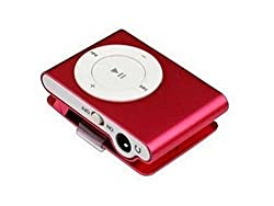 SONILEX MP3 PLAYER WITH EAR PHONES RED