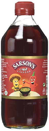 Sarsons Original Malt Vinegar 568ml - Traditioneller englischer Malz-Essig