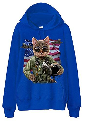 sweat-a-capuche-us-air-force-cat-pilot-f22-raptor-blue-large
