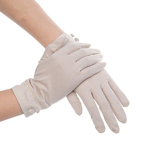 Damen Kenmont Summer Sun UV-Schutz, für den Außenbereich, Farbe, Auto-Handschuhe aus Baumwolle