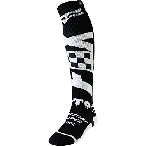 Fox Socken FRI Thin Czar Black/White, Größe L