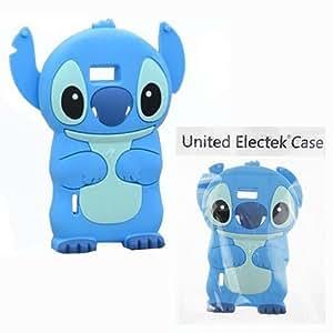 Bleu 3D Disney Stitch Étui Coque En Silicone pour LG P700 705 Optimus L7