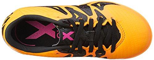 adidas X 15.3 Tf J, Chaussures de Foot Mixte Bébé Naranja / Negro / Rosa (Dorsol / Negbas / Rosimp)