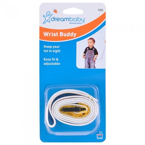Dreambaby Baby Wrist Buddy Band Toddler Safety Kids Harness Strap Adjustable New, Assorted Colors