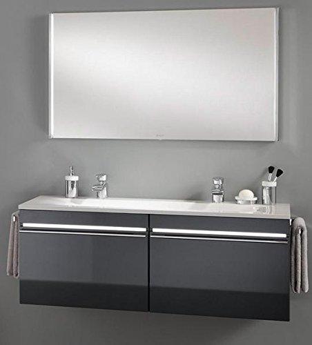 Preisvergleich Produktbild Joop Badmöel Set Doppelwaschbecken mit Spiegel weiß