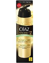 Olaz - Total Effects - Crème de jour peaux sensibles flacon pompe - 50 ml