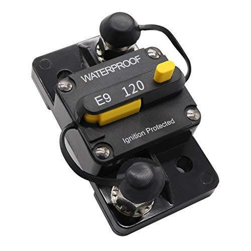 Sharplace Auto Marine Commutable Électrique Interrupteur de Disjoncteur De Montage - 120A