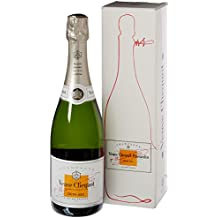 Veuve Clicquot White Label Demi-Sec Champagne 75 cl NV (Gift Box)