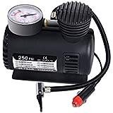 REAL CRAZE Air Pump Compressor 12V Electric Car Bike Tyre Tire Inflator/Compact Durable Car Air Compressor