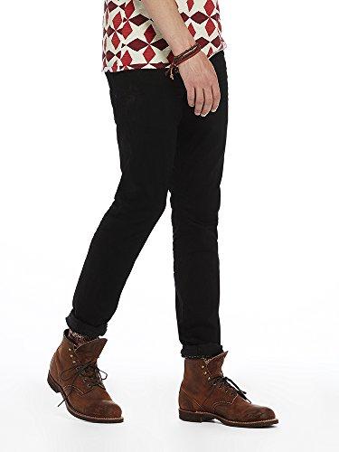 Scotch & Soda Herren Straight Jeans Ralston-Stay Black Schwarz (Stay Black 1362)