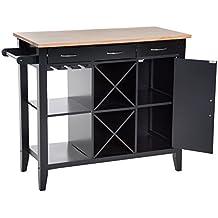 Amazon.it: mobili cucina - Nero