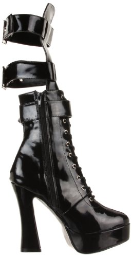 Pleaser ELE1028/B/PU Bottines Femmes Blk Pat