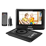 Best Car Dvd Players - Excelvan Portable DVD Player 10.5'' Built-in 5000mAh Rechargeable Review