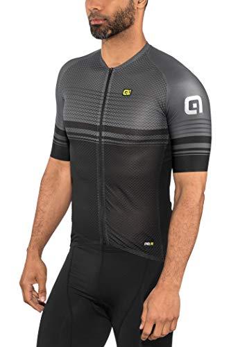 Alé Cycling Graphics PRR Slide SS Jersey Men Black-Charcoal Grey Größe XXL 2019 Radtrikot kurzärmlig -