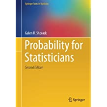 Probability for Statisticians (Springer Texts in Statistics)