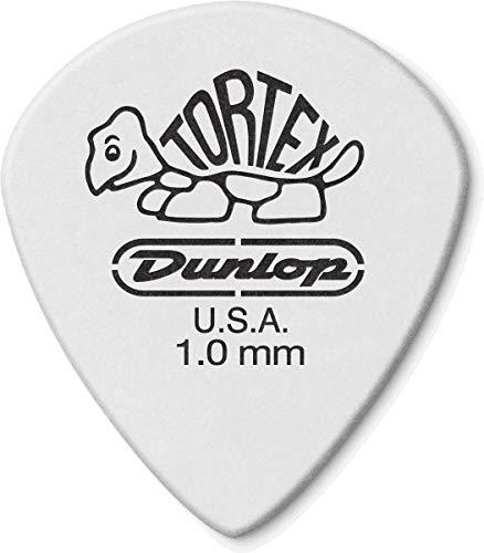 Plettro Plettri Dunlop 478P.100 TORTEX WHITE JAZZ III