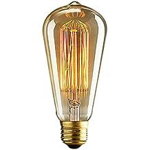 Ampoule E27 Edison Antique vis Edison Lamp Base Bars de bulbes, Hôtels, karaoké, restaurant, café, Windows, Showrooms ampoules décoratives (16 types de chooose)