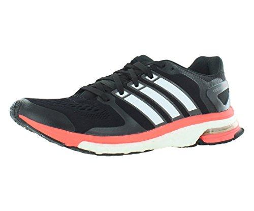 Adidas Adistar Boost eSM Chaussures Hommes 8 Noir-blanc-rouge solaire Courir Black / Core White / Solar Red