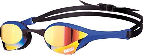 arena Cobra Ultra Mirror Gafas de Natación, Unisex Adulto, Amarillo (Yellow Revo), Talla Única