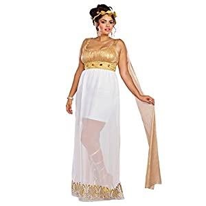 DreamGirl-10688X Athena disfraz, talla XL