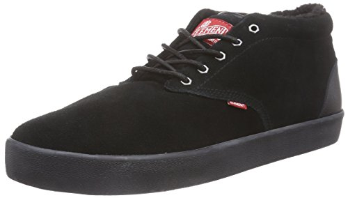 Element ELEMENT PRESTON, Sneaker alta uomo, Nero (Schwarz (TIMBER BLK BLK 3828)), 44