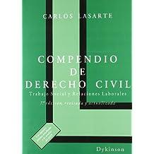 Compendio de Derecho Civil. Trabajo Social y Relaciones Laborales