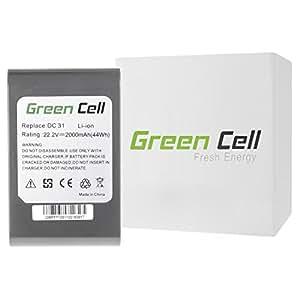 Green Cell® 917083 Handheld Vacuum Cleaner Battery for Dyson ( Li-Ion cells 2000mAh 22.2V)