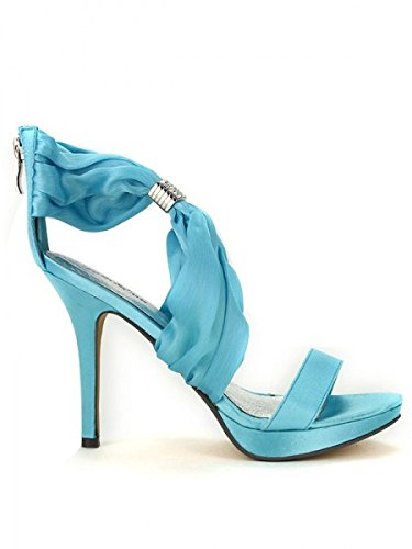 Cendriyon, Escarpin Blue ciel LOLIKA Mode Chaussures Femme Turquoise