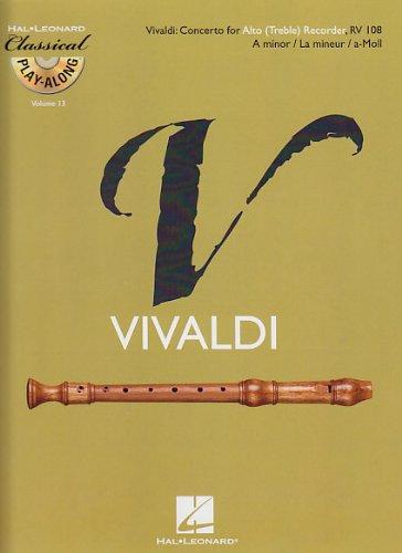 Alto (Treble) Recorder Concerto in A Minor, RV 108