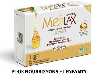 Aboca Melilax Pediatric Mikrowaschmittel für Säuglinge und Kinder, 6 Stück
