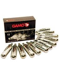 Caja de 12 Cargas de Gas para Carabinas CO2 12 G Gamo 6212476