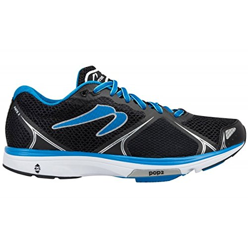 Newton Running Men's Fate III Neutral Shoe, Zapatillas Hombre, Negro (Black/Blue), 41 EU